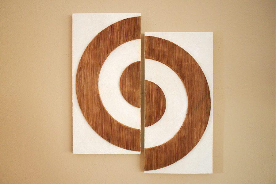 Holzbild Kreise | Picture Circles