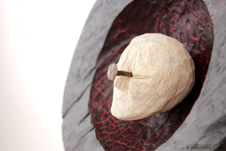 Skulptur Migräne | Sculpture Megrim